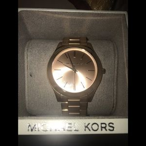 Women's Micheal Kors Rose Gold Watch